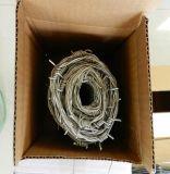 高品質の低炭素の電流を通された有刺鉄線