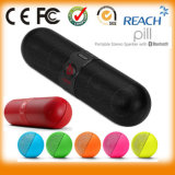Hot Sell Nfc Mini Portable Bluetooth Pill Speaker AAA +