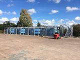 Estructura de acero comercial protectora Warehouse762