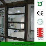 Aluminum Doubles Hung Window Wth Double Knell