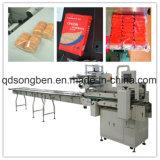 Sur le bord de plusieurs lignes de l'emballage de la machine pour les gaufres