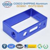 Peças de maquinaria de alumínio personalizadas do CNC com anodização da cor