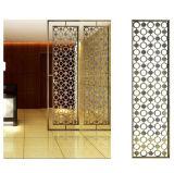 レーザーによって切られる装飾的なステンレス鋼部屋ディバイダスクリーン