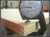 Madera contrachapada de la teca con el pegamento E0/E1/E2