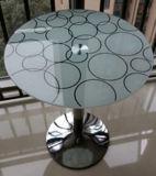 Den Kunst-Digital-Drucken angestrichenen gekopierten ausgeglichenen lamellierten Tisch verzieren Glas
