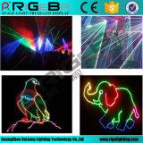 luz colorida do efeito de estágio do laser de 1500MW RGB