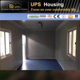Doppelter Fußboden/waagerecht ausgerichteter beweglicher Haus-Behälter mit Badezimmer-Teildiensten