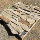 호랑이 피부 외부 벽 클래딩 돌, 느슨한 돌, 개별적인 피스 돌