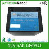 Batería de ion de litio de Rechagreable 12V 5ah para la luz Emergency