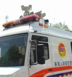 De Camera van het Toezicht van het Verkeer van het Gebruik van de politiewagen