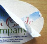 Strong клейкую бумажную наклейку / Глянцевая мелованная бумага с виолончель 90g