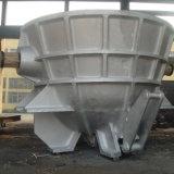 Bac en acier de scories de moulage au sable pour l'aciérie