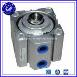Cilinder van de Lucht van de Buis van de Cilinder van het aluminium de Pneumatische Compacte