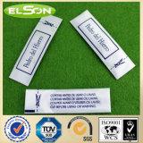 Tissu blanc EAS étiquette antivol de sécurité de l'habillement (AJ-LA-04)
