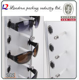 立場(T01)を示す接眼レンズの陳列ケースのSunglassの表示棚ガラス