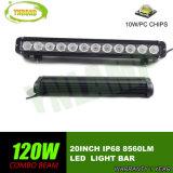 barra ligera de conducción auto de la lámpara LED del CREE LED de 20inch 120W