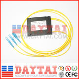 Splitter fábrica de casete Tipo de fibra óptica PLC 1X8