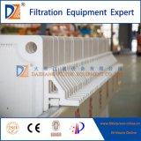 La chambre hydraulique filtre presse à la main pour le traitement des eaux usées