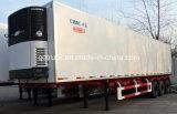 30 toneladas de Aluminium Refrigerator Van Trailer