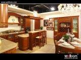 2016 Welbom auto assemblés moderne des armoires de cuisine en bois massif
