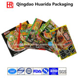 Quadratischer unterer Fastfood- Verpacken- der Lebensmittelbeutel mit Reißverschluss-Verschluss