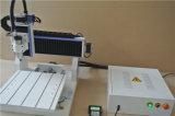 3D que talla ranurador de escritorio del CNC 6090 de la fresadora del grabado el mini