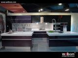 2016年のWelbomの卸し売り現代流行の紫色のラッカー木の食器棚