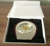 Reloj de madera del escritorio de la venta superior para el hogar o las oficinas