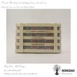 _E en bois fait sur commande de Wholesael de caisse d'emballage de cadeau de sucrerie de Hongdao