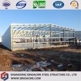 Het geprefabriceerde Lichte Pakhuis van het Frame van het Structurele Staal