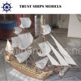 Шлюпка подгонянная китайцем Handmade деревянная модельная