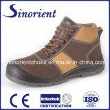 Professional Nubuck couro Calçado de segurança Snn409