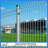 Покрынные PVC гальванизированные панели загородки ячеистой сети