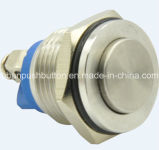 Heißes Sale 16mm Stainles Steel Push Button Switch