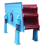Máquina del tamiz vibratorio para la separación de piedra del oro y del cuarzo