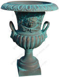 Urna de fundição de ferro para ornamento para casa