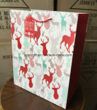 Ensemble de trois tailles de papier d'impression de la conception de Noël Sac cadeau