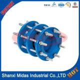 Fonte ductile En14525 Fitting large Di Gamme Démontage PN25 Joint pour tuyaux en fonte ductile Di