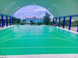 Badminton professionnel extérieur, basket-ball, plancher de sport de tennis avec le prix bon marché