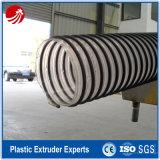 Flexible corrugado de PVC Conduit manguera de línea de extrusión de tuberías