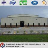 Viga metálica edificio de almacenamiento de la estructura de acero