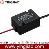 El LED de AC negro de 12W fuente de alimentación con encapsulado