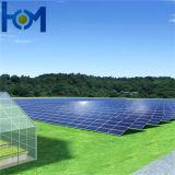 3.2mm PVのモジュールの使用の緩和された上塗を施してある極度の白い太陽ガラス