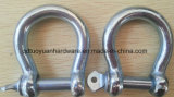 China Fabricante Rigging Hardware Trawling Black Dee Tipo Shackle