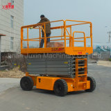 Construcción Plataforma móvil de trabajo aéreo Plataforma hidráulica de tijera eléctrica