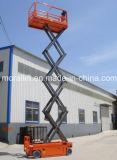 Einfache Operations-hydraulisches Mobile Scissor Aufzug-Tabelle