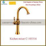 Robinet sanitaire d'or de cuisine de taraud d'eau d'articles