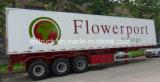 30 Tonnen Aluminiumrefrigerator Van Trailer