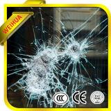 La seguridad PVB claro vidrio laminado templado para la construcción de Windows