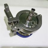 Válvula de verificación del soplo del aire del acero inoxidable de la categoría alimenticia